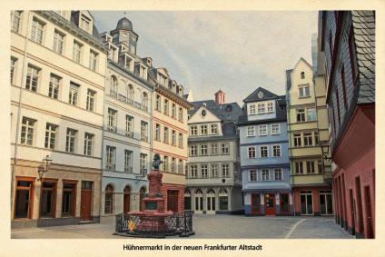 Goetheturm Frankfurt Weihnachtsmarkt.Nostalgiekarte Unsere Ansichten Von Frankfurt